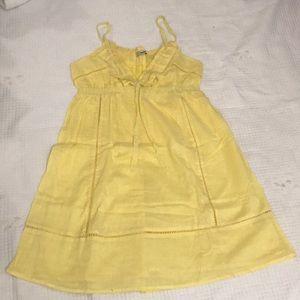 Yellow dress (size s)